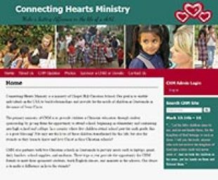 Connecting Hearts Website Image